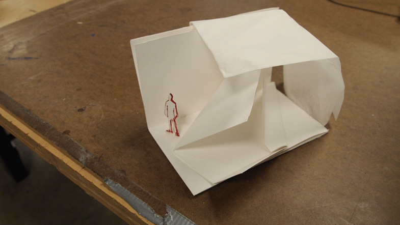 study in folding architecture